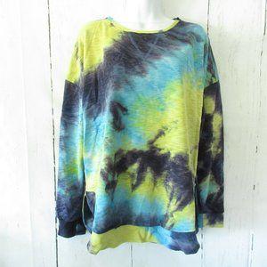 Gigio By Umgee Tie Dye French Terry Sweatshirt